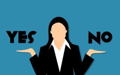 Is 'nee' zeggen makkelijker voor mannen?