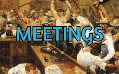 Running Efficient Meetings