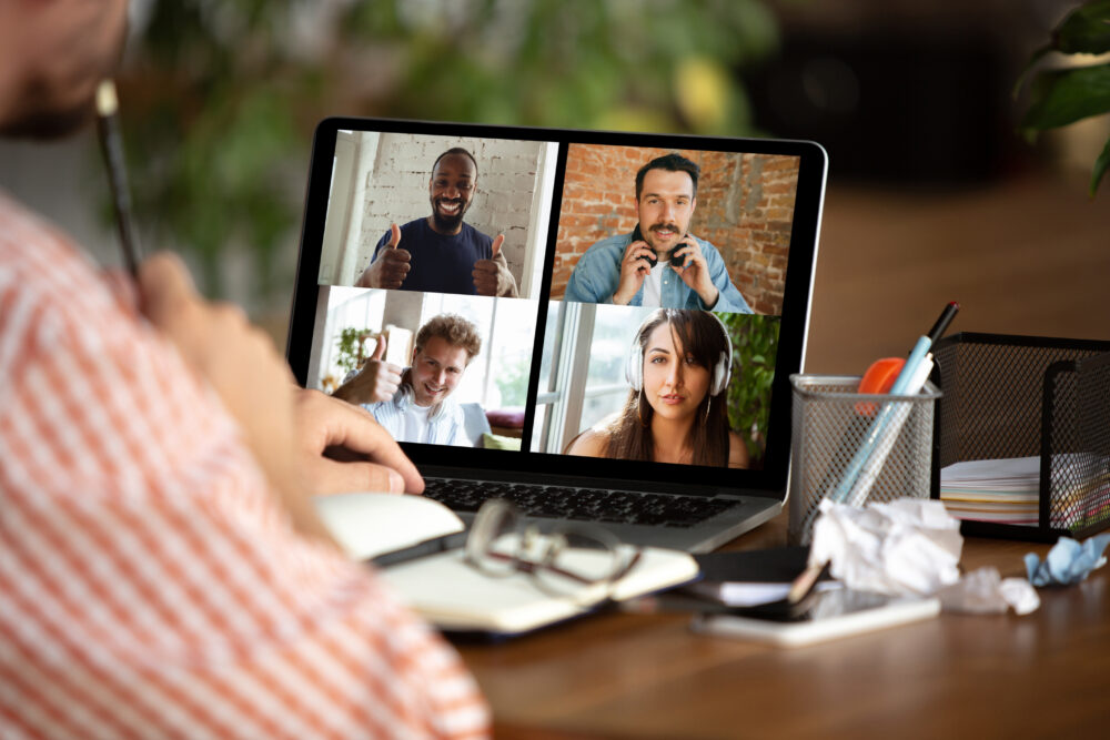 Managing your people while they, as well you, work from home
